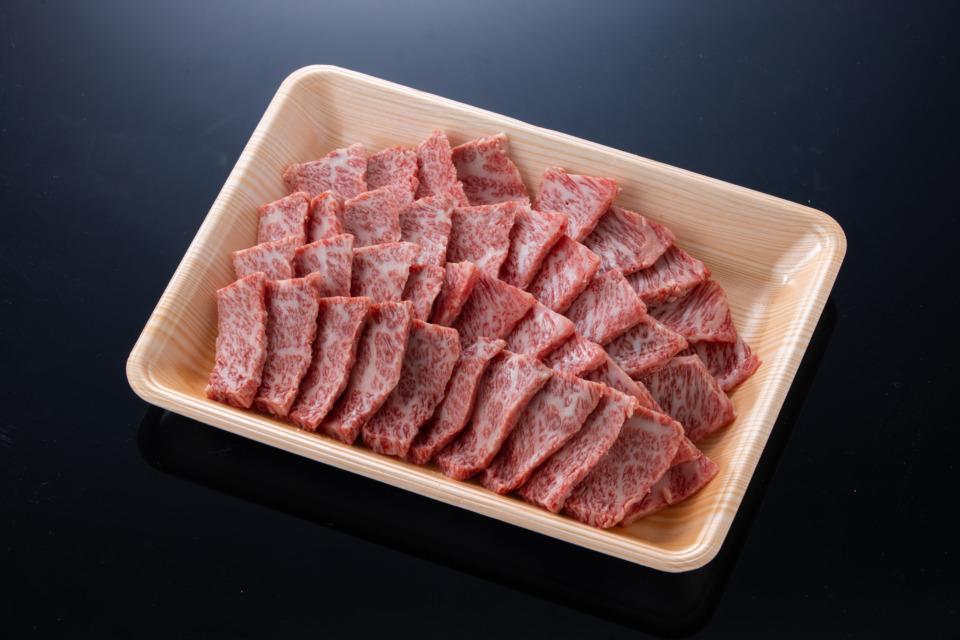 鳥取県産 黒毛和牛 三角バラ焼肉用(500g)