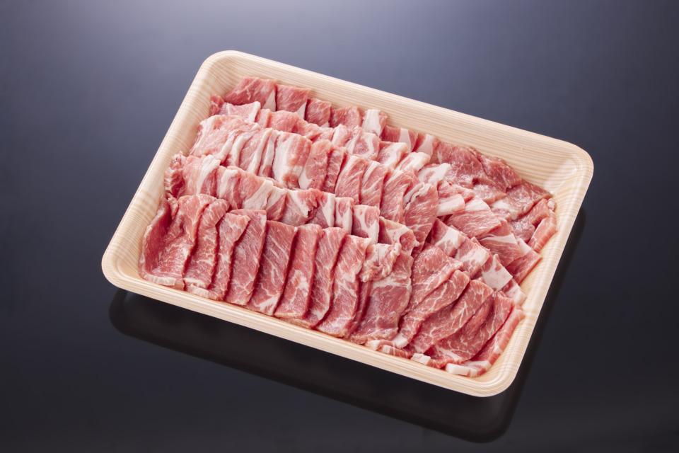 鳥取県産 豚肩ロース焼肉(500g)